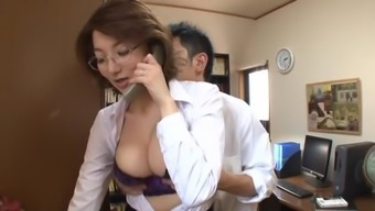 Hot mature hooker with vast honkers in extreme behavior