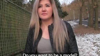 public provider gorgeous swedish player loves sex for hard cash
