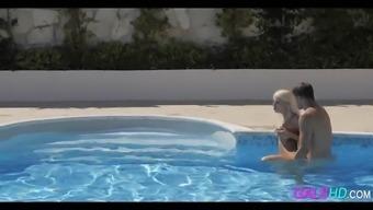 Pool Fucking Chloe Lacourt