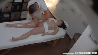 busty spiteful lady hooked her masseur to effectively hard sexual intercourse