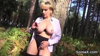 Cheating britain milf girl sonia jumps out out her outsized titties