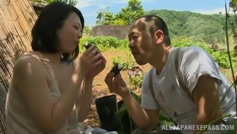 Stunning Japanese people milf is loving her mankind