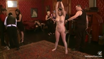 An awesome Bondage Curb With remarkably Docile Women