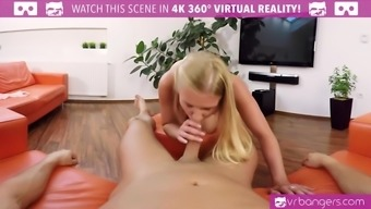 VR PORN-Sexy Brown Cherub Piaff Fiddle with Her Pussy and Sperm