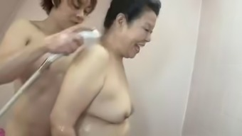 Japanese Big beautiful woman Granny shino moriyama 66-years-old H-0930