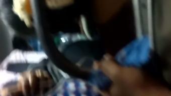 Vulptuous tamil girl public bus part first