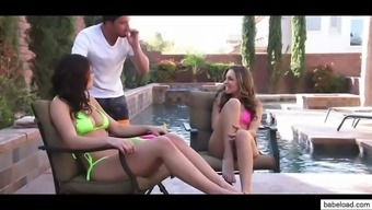 leah gotti & kimmy granger teenager threesome