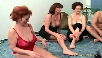 Mature spouses plays trial race the sexual intercourse container