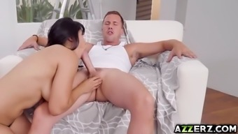 naughty wifey mia li get a really hot sex by using neighboring town