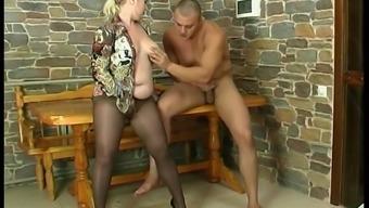 Russian plump Lena
