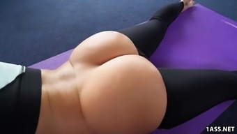 Great Round Ass Jada Stevens Requires Great Cock After Yoga