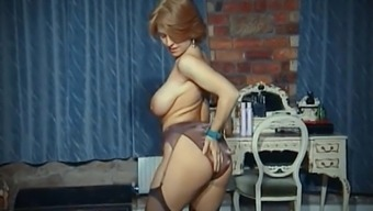 Funny - vintage great titties strip party seduce in stockings