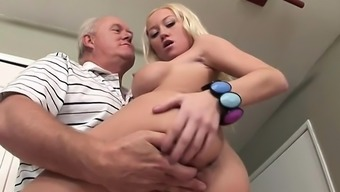 Madison Makes Old Mankind Dick Hard With the use of Serious Blowjob