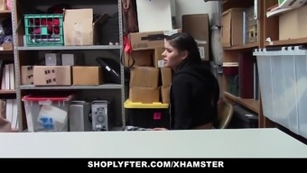 Shoplyfter - Teen Fucked By Bright For Stealing