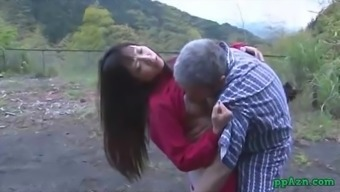 From asia Love Getting Her Pussy Licked And Fucked By Old Man Sperm To effectively Booty Backyard At
