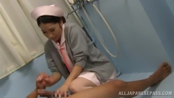 Perverted Japanese people Healthcare provider Blows and Fucks under the shower