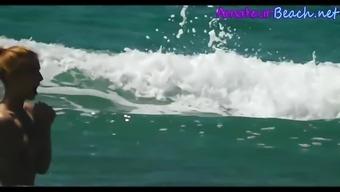 NUDIST Seashore Spouses Voyeur Ordinary users Secret Online video