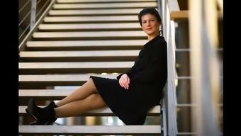 Sahra Wagenknecht shiver off challenge