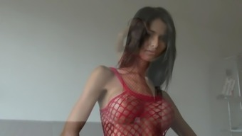 Slender Czech with the use of Large Tits Trys it on according to your needs
