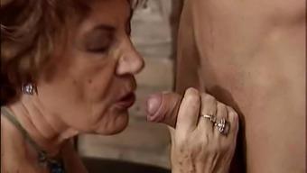Granny getting perverted bloke.