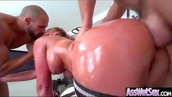 (Phoenix Marie) Big Curvy Ass Girl Love Deep Anal Sex On Cam video-27