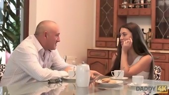 Daddy4k. sex with old guy is what beauty needed to try in her life