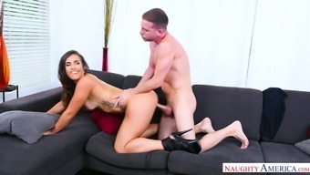 Stylish chicken with the use of yummy pussy Kelsi Monroe gets her nick rammed