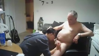 Swedish do-it-yourself online video associated with a mature mother fucking male relative