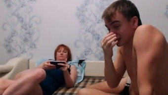 true mom-son web camera four(4)