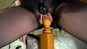 She treasures driving the bedpost and squirting