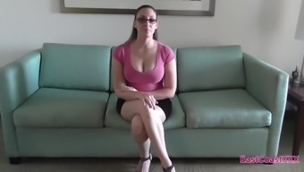 Melanie Hicks - Occupation interview Creampie