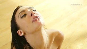 Cutie with the use of tiny tits Marley Brinx having her pussy high