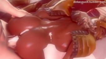 Futanari video compilation #4