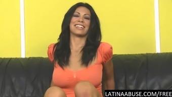 Gorgeous Cassandra Cruz puke fucked