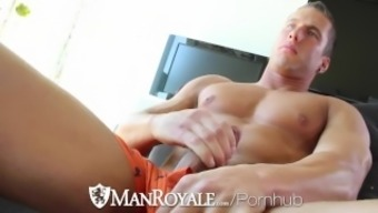 ManRoyale Kevin Summer months Buries cock in Pole Peterson