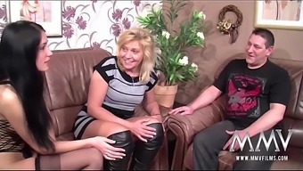 MMV Movie versions Creampie for Senior German