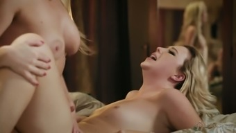 Fabulous curvaceous blondie Samantha Rone is raring to operate on opening