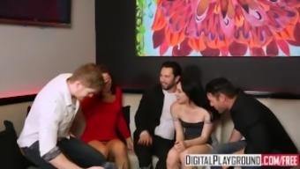 DigitalPlayground - Adultery, Market 5(five), fun evening changes to club orgy