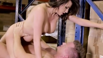 Storehouse extreme for busty Danica Dillon
