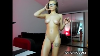 Slutty Youngster Coed Entertaining Herself