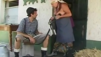 Plus-size woman Granny Requires Substantial Younger Cock