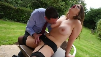 Naughty man take pleasure in fucking Lucia Completely love while her titties rebound