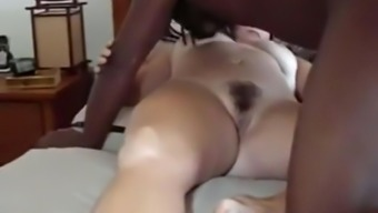 Black bloke fucks my cuckold wifey christian missionary and breeds her