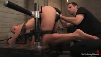 Dia Zerva gets her butt fisted and fucked with the use of toys by Expert