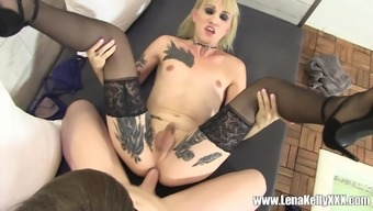 Lena Kelly and Natalie Mars like to please each other's cocks