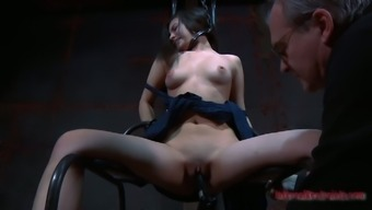 Blond Lorna is fucked seriously utilizing a amazing piece of equipment