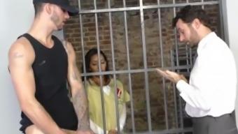 ebony priya pricetag savours threesome incarceration