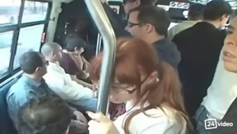 Teen marie mccray sucks cock in a bus