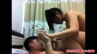 Asian small tits love riding cock