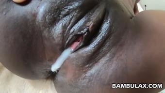 Ebony African Creampie compilation